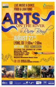 Arts On The River, Lyons, CO